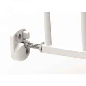 Poarta de siguranta extensibila Noma, 62-102 cm, metal alb, N93361 [3]