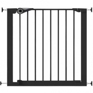 Poarta de siguranta Noma Easy Fit, presiune, 75-82 cm, metal negru, N94313 [0]