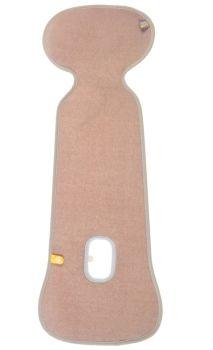 Protectie antitranspiratie scaun auto GR 1 BBC Organic Sand - Aerosleep0