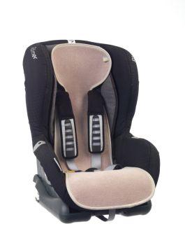 Protectie antitranspiratie scaun auto GR 1 BBC Organic Sand - Aerosleep1
