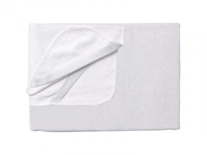 Protectie impermeabila pentru saltea 140x70 cm alb1