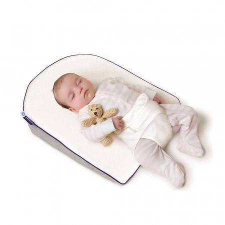 Saltea anti-alunecare cu ham pentru bebelusi ClevaSleep® Plus Clevamama0