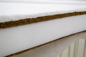 Saltea Fibra Cocos MyKids Bumbacel 120x60x11 (cm) [3]