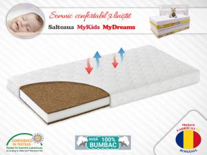 Saltea Fibra Cocos MyKids MyDreams II 160x80x15 (cm) [0]