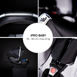 Scaun Auto 0-13 kg iPro Baby Set - Hauck [24]