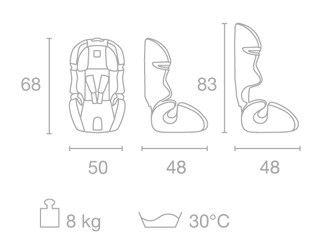 Scaun auto copii 9-36 kg SL123 Kiwy1