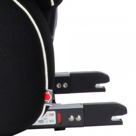 Scaun auto cu isofix SLF123 PLUS Q-FIX 9-36 kg Kiwy1