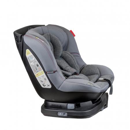 Scaun auto Millo rotativ 360 grade cu ISOFIX 0-18 kg Coletto4