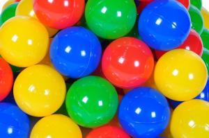 Set 250 bile colorate Multicolor - Knorrtoys [1]