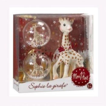 Set cadou Primul meu Craciun Girafa Sophie [0]