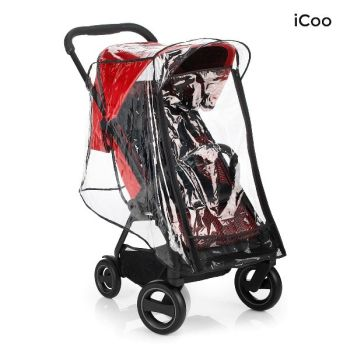 Set Carucior Acrobat Shop'n Drive Fishbone Red - Icoo5