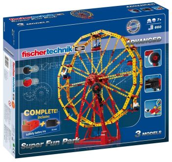 Set constructie ADVANCED Super Fun Park - 3 modele - Fischertechnik1