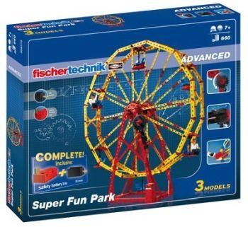 Set constructie ADVANCED Super Fun Park - 3 modele - Fischertechnik4