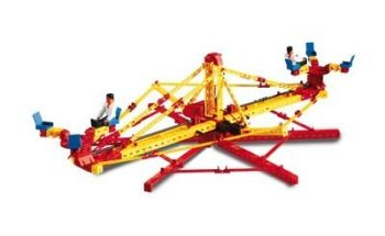 Set constructie ADVANCED Super Fun Park - 3 modele - Fischertechnik3