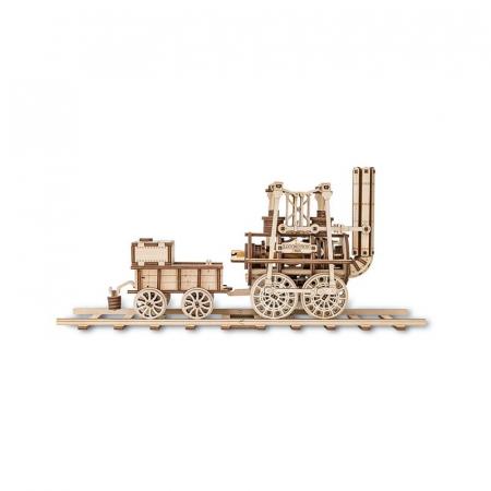 Set constructie cu mecanism Puzzle 3D LOCOMOTION din lemn 325 piese @ EWA2