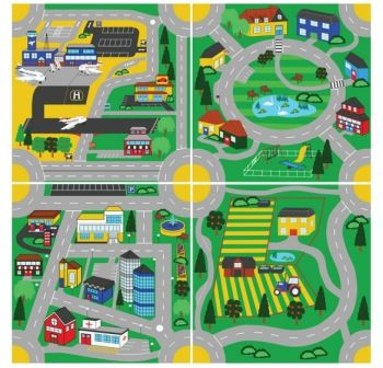 Set Covoare Town&Country Roads Kit for Kids [0]