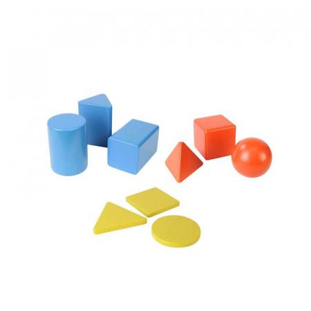 Set educativ forme si corpuri geometrice, din lemn, +2 ani, Masterkidz, pentru gradinite2