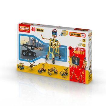 Set inginerie 40 modele cu motor Engino0