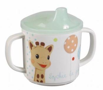 Set pentru masa melamina Girafa Sophie baloane cutie cadou [1]