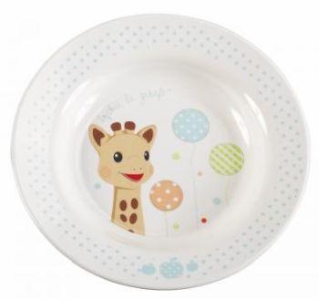 Set pentru masa melamina Girafa Sophie baloane cutie cadou [2]