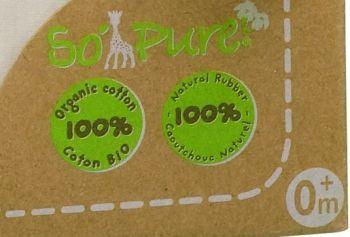 Set pentru nou-nascuti bio So pure - Girafa Sophie1