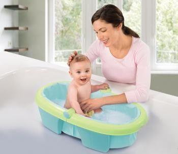 Summer Infant - Cadita pliabila Newborn-to-Toddler0