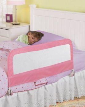 Summer Infant - Protectie pliabila pentru pat Pink1