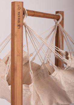 Suport Hamac bebe Yayita Organic bamboo - La Siesta8