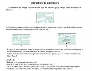Tarc de joaca pliabil din lemn - Mesterel [8]
