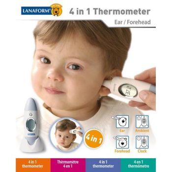 Termometru pentru bebelusi 4 in 1 Lanaform3