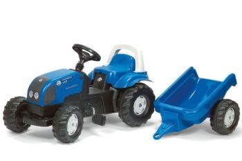 Tractor cu pedale copii Rolly Toys 011841 Albastru