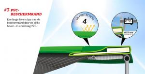 Trambulina Berg Grand Favorit Regular 520x345 Gri cu Plasa Comfort [3]