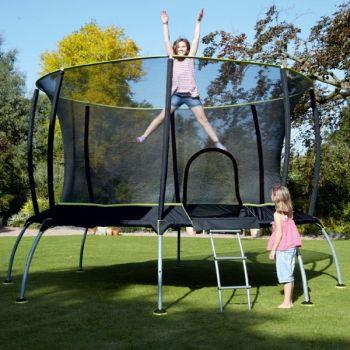 Trambulina copii 10ft TP Genius Octagonal SurroundSafe - TP Toys0