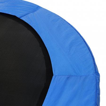 Trambulina KidsCare, cu scara si plasa de protectie, 244 cm2