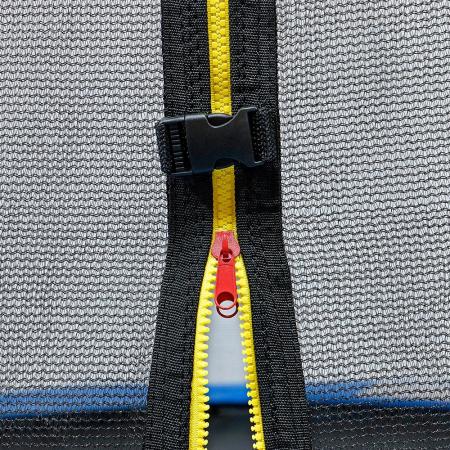 Trambulina KidsCare, cu scara si plasa de protectie, 244 cm3