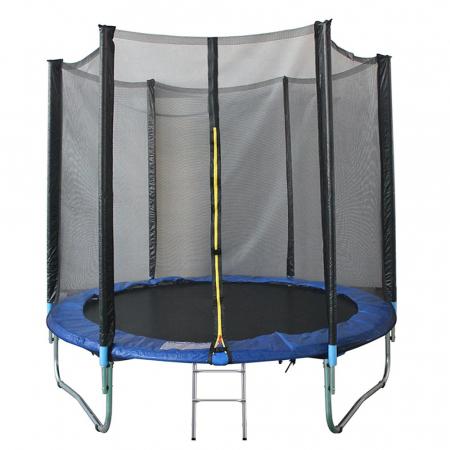 Trambulina KidsCare, cu scara si plasa de protectie, 305 cm0