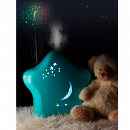 Umidificator de camera cu proiector si lumina de noapte Moony Lanaform3