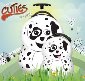 Valiza tip trolley si ghiozdan Pupster the Dalmatian - Cuties and Pals0