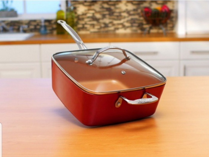Tigaie Friteuza Multifunctionala Copper Pan 0