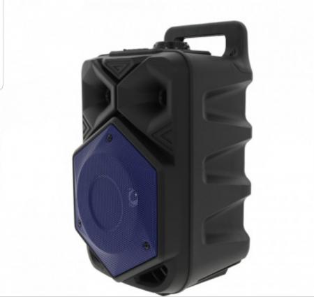 Boxa Portabila BTSPEACKER, Microfon, Telecomanda, Bluetooth, USB, TF-Card, FM, ZQS6120-BLUE [2]
