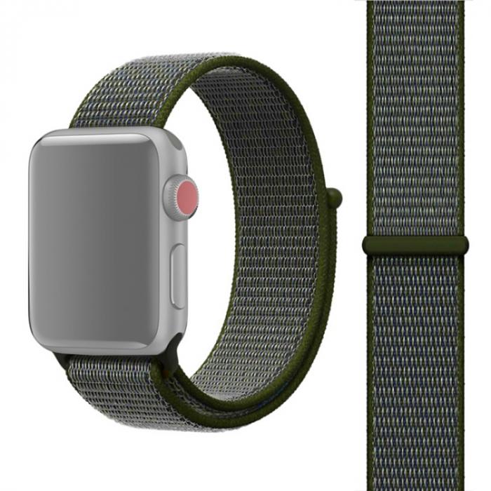 Curea pentru Apple Watch Series 6 & SE & 5 & 4 44mm / 3 & 2 & 1 42mm - Sport Loop [0]