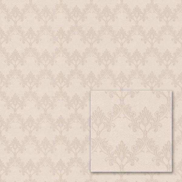 Tapet modern în stil barok bej 0