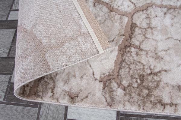 Covor acrilic geometric universal - bej safir 2