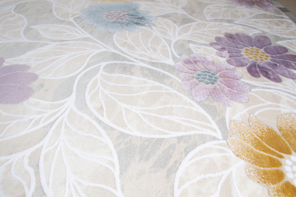 Covor acrilic floral universal - multicolor soft 1