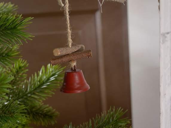 Glob din lemn cu clopoțel 4