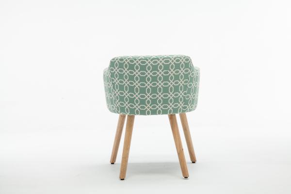 Fotoliu Model Geometric Material Lemn + Textil [4]