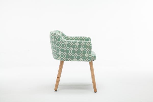 Fotoliu Model Geometric Material Lemn + Textil [2]