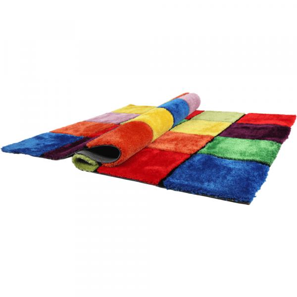 Covor multicolor, roşu/verde/galben/violet 0