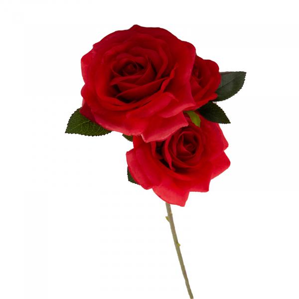 Trandafiri artificiali floare mare 0