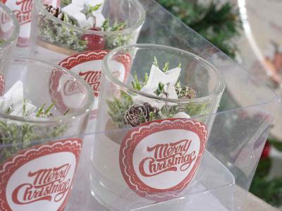 Decorațiune de Crăciun lumânare, în borcan de sticlă [2]